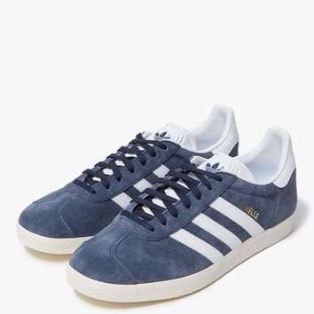 Adidas / Gazelle in Blue/White/Gold