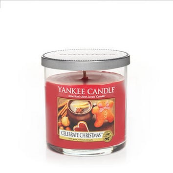 Celebrate Christmas : Small Tumbler Candles : Yankee Candle