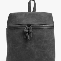 Charlotte Zip Detail Backpack