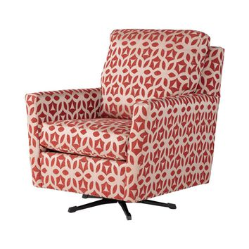 Forte Ruby Accent Swivel Rocker