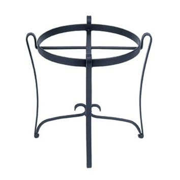 ACHLA Designs FB-08 Round Wrought Iron Plant Stand