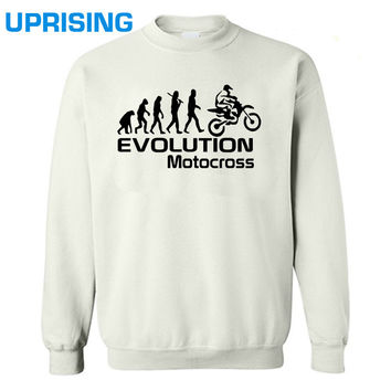 Evolution Of Motocross Motorbike Funny Adult Mens Hoodies  Sweatshirts Birthday Gift More Size and Colors