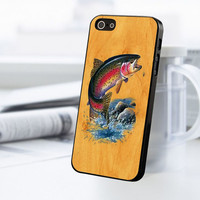 Fish Wood iPhone 5C Case