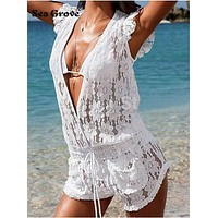 Summer Style 2016 New Arrive Swimsuit Cover-Up Women Swimsuits  Dustcoat Swimwear