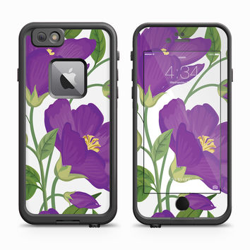 Purple Skin for the Apple iPhone LifeProof Fre Case