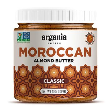 Classic Almond Butter With Superfood Organic Edible Argan Oil