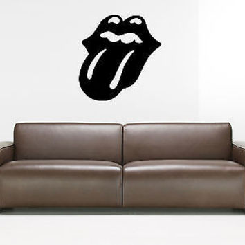 Lips Decal Lips Sticker Hot Sexy Vinyl Décor the wall Stylish modern décor 3772