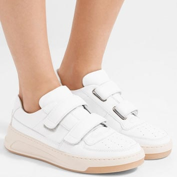 Acne Studios - Steffey leather sneakers