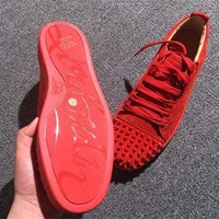 Cl Christian Louboutin Low Style #2061 Sneakers Fashion Shoes - Best Online Sale