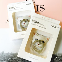 Cute Dog Cat iRing for iPhone 7 7Plus & iPhone se 5s 6 6 Plus with Gift Box