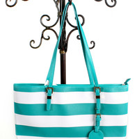Twila Striped Tote