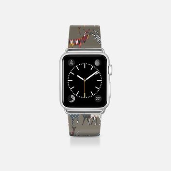 mushroom spice deer apple watch band Apple Watch Band (38mm)  by Sharon Turner | Casetify