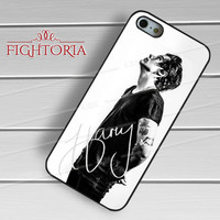 Harry Styles One Direction Signature - zzZzz for  iPhone 6S case, iPhone 5s case, iPhone 6 case, iPhone 4S, Samsung S6 Edge