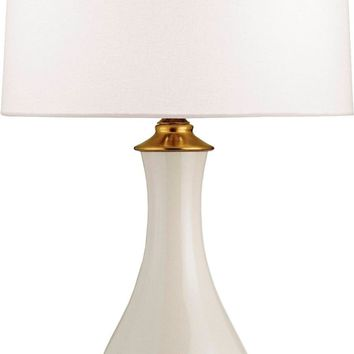 Lynton Table Lamp, White