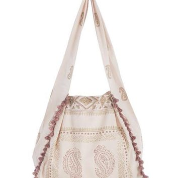 SHIRALEAH GEMMA HOBO,BLUSH