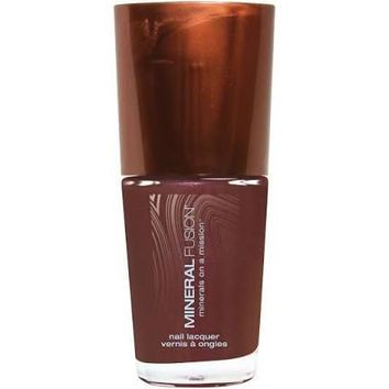 Mineral Fusion Nail Polish, Redsmith Rose - 0.33 Oz