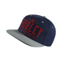 Hurley All Day Snap Men's Adjustable Hat Size 1SZ (Blue)