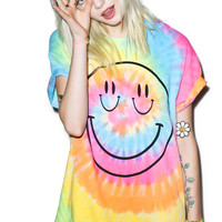 Burger And Friends Smize Tee Tie Dye