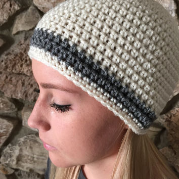 Crochet Beanie Hat Winter Hat Shell Beanie Teens Back to School Winter Beanie Fall Beanies
