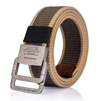 Men's High Quality Military Equipment Belt For mens Army Nylon Belts Patriotic