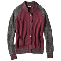 Mossimo Supply Co. Juniors Long Sleeve Collegiate Cardigan - Assorted Colors