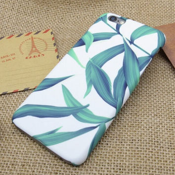 Original Cute Leaf iPhone X 8 7 6s Plus Case Cover + Nice Gift Box