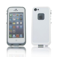 iPhone 5S/ 5 Grey Water Proof Case