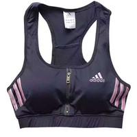 Adidas Women Casual Female Tennis Fitness Yoga Gather Vest Tank Top Cami