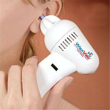 Adult Children's Genera Electric Ear Cleaner Safety Ear Cleaning Device Ear Massage Machine Vacuum Removal Kit Earwax Romover