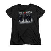SONS OF ANARCHY ROLLING DEEP Women's Short Sleeve T-Shirt