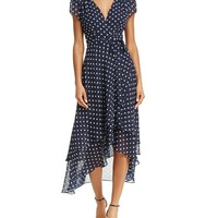 Betsey Johnson Polka Dot Wrap Dress | Bloomingdales's