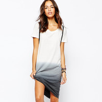 Ombre Tee Shirt Dress