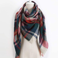 Blanket Scarf - Christmas Tree Lane