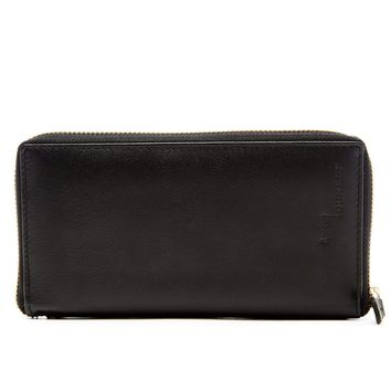 Slim Wallet With Removable Checkbook