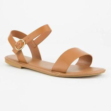 BAMBOO Ankle Strap Womens Sandals   Sandals