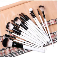 Tools Wool Plaid Stylish Hot Sale Make-up Brush Set [6050183937]