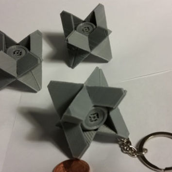 Ghost Companion - Destiny Related Mini Keychain