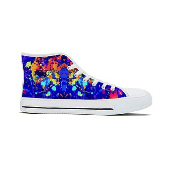 Splat - High Top Canvas Shoes