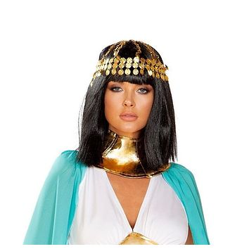 Roma 4927 - Gold Coin Headpiece Costume
