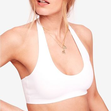 Free People Amber Halter Bralette Women - All Active Clothing - Macy's