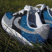 ONETOW Nike Air Force 1 Hand painted Glitter Sneakers