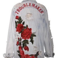 Trouble Maker Denim Jacket