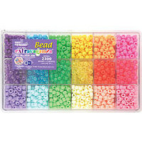 Giant Bead Box Kit 2300 Beads - Pastel & Jelly