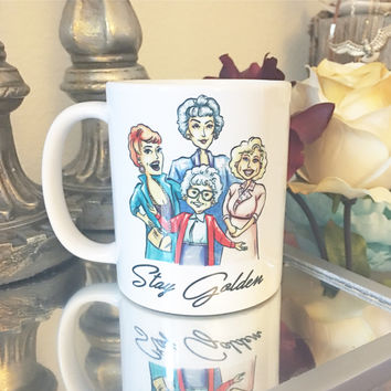 Golden Girls / Golden Girls Mug / Coffee Mug / Office Gift / Golden Girls Cul / Gift for Her