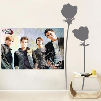 Y627#31 Hot Sale Big Time Rush in Cologne Satin Painting Wall Silk Poster cloth print DIY Fabric Poster L#31