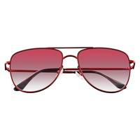 Sunglasses Mens Womens Retro Flat Lens Color Tone Sunglasses