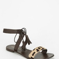 Deena & Ozzy Tasseled Lace-Up Sandal - Urban Outfitters