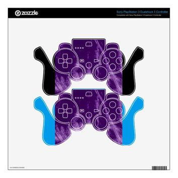 PRETTY PURPLE STYLE PS3 CONTROLLER DECAL