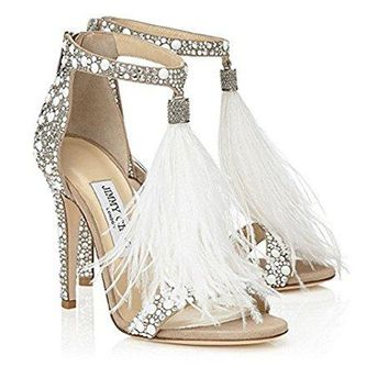 62963f56c2e JIMMY CHOO Womens Viola 110 Heeled Sandals