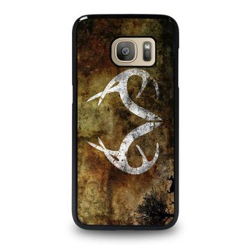 realtree deer camo samsung galaxy s7 case cover  number 1